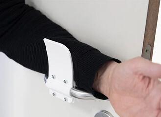 Hands-Free-Door-Opener-3D-Printed-File-Download
